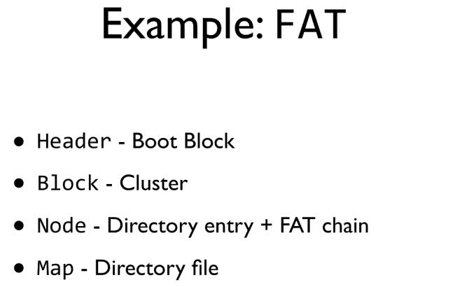 Example: FAT
