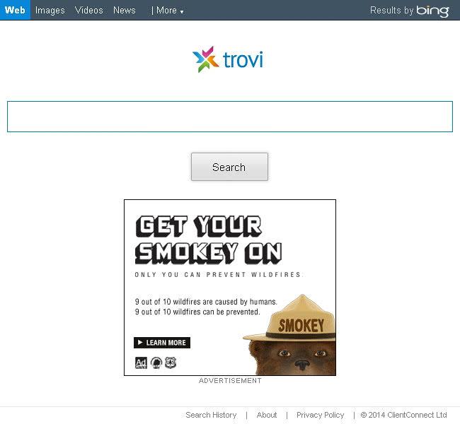 www.trovi.com screenshot