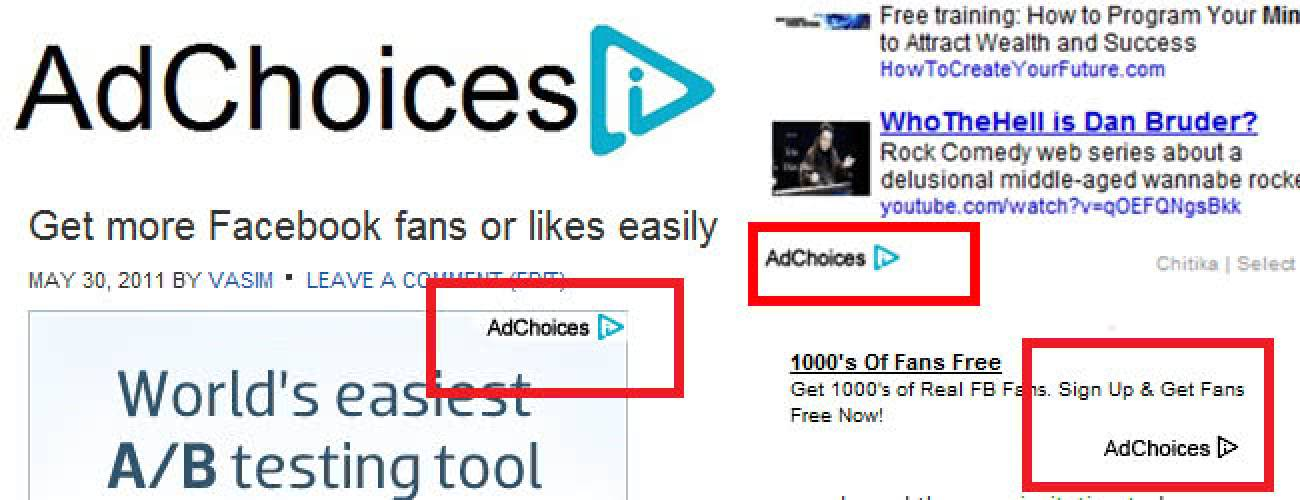 Remove AdChoices