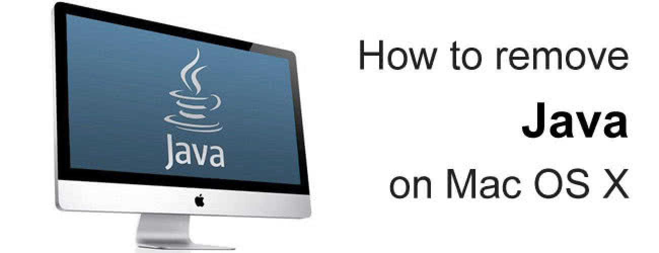 Remove Java from Mac