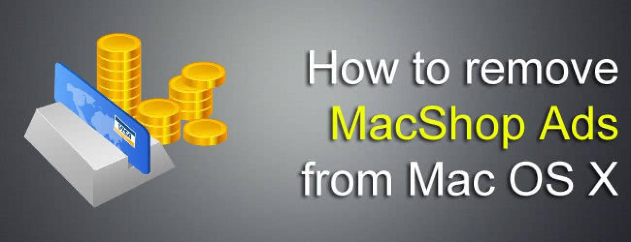 Remove MacShop Ads