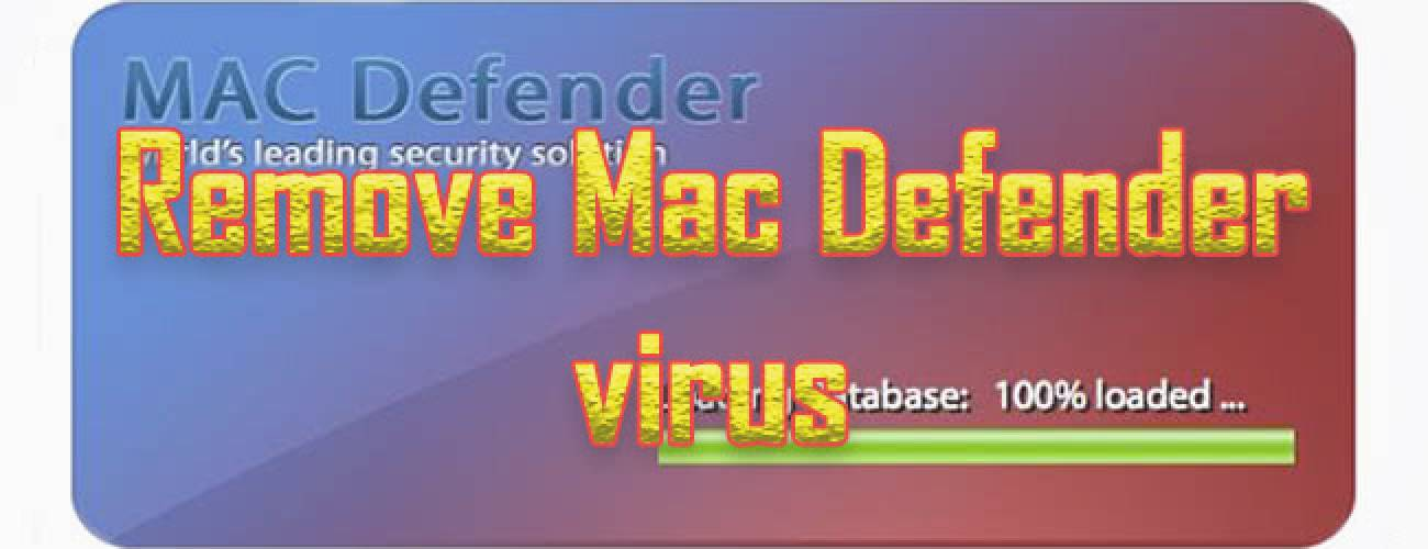 Remove Mac Defender