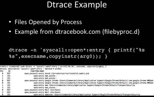 Dtrace Example