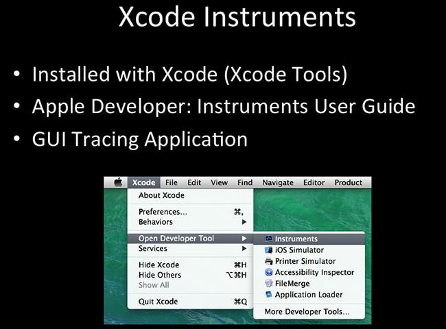 Xcode Instruments
