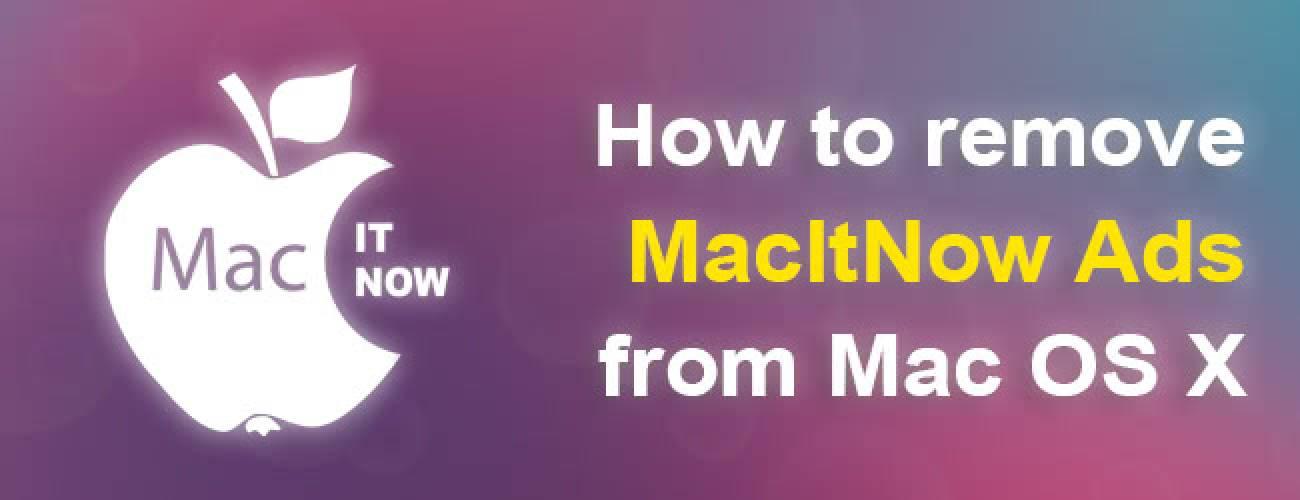 Remove MacItNow