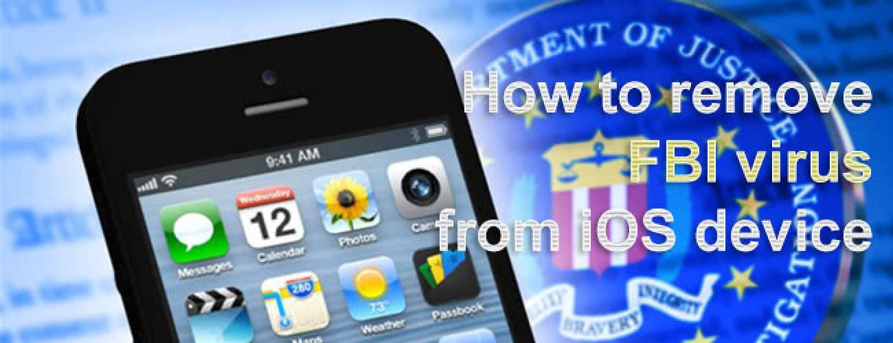 Remove FBI virus from iPhone