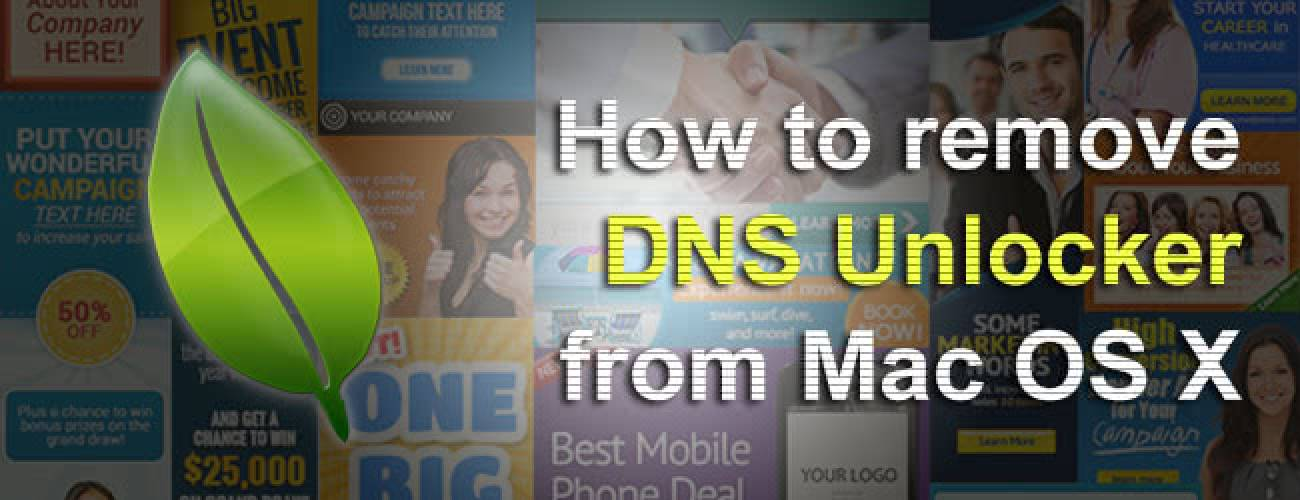 Remove DNS Unlocker ads from Mac
