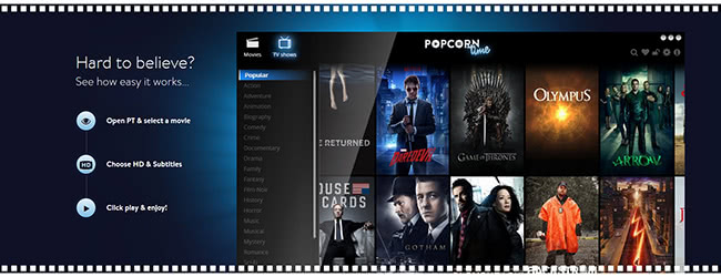 Popcorn Time may spread malware and cause instability of OS X