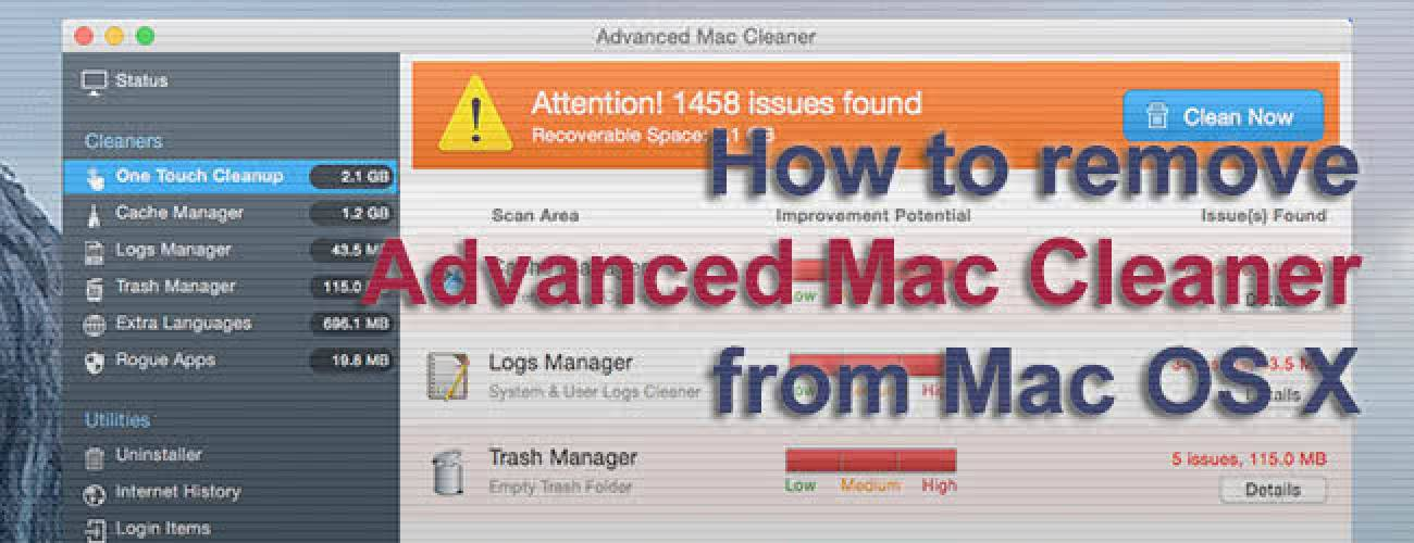 Remove Advanced Mac Cleaner virus from Mac OS X