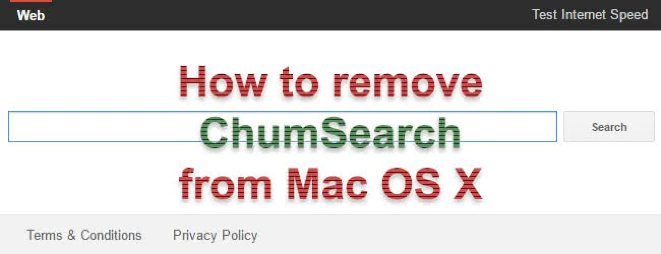 Remove ChumSearch adware