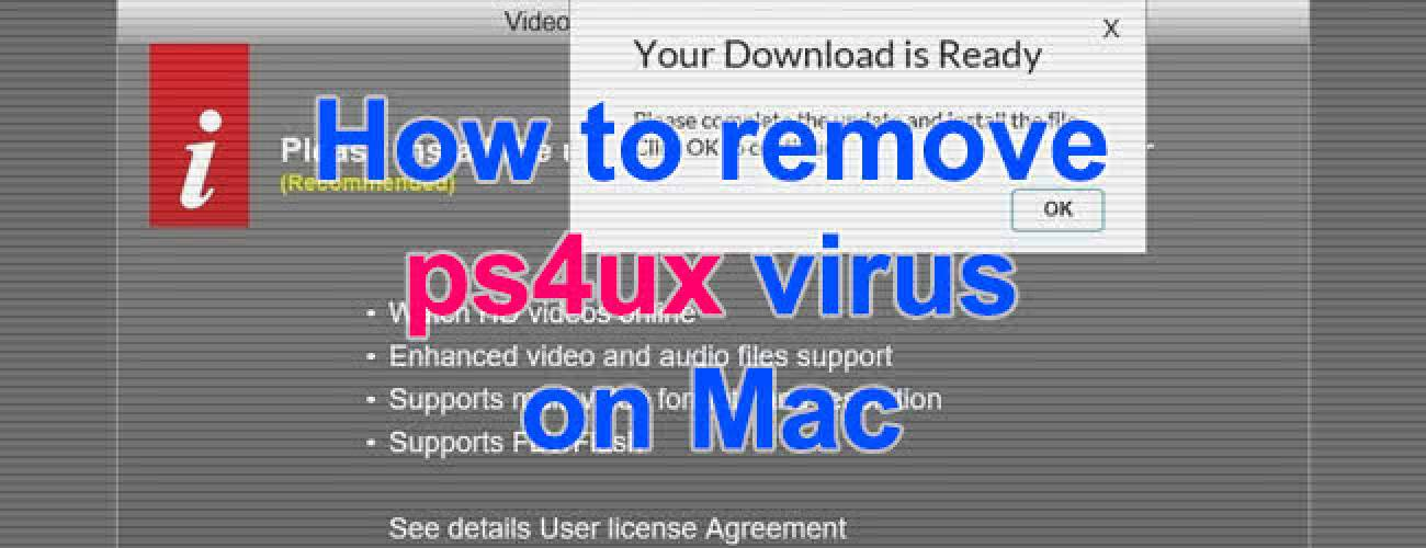 Remove ps4ux virus from Mac