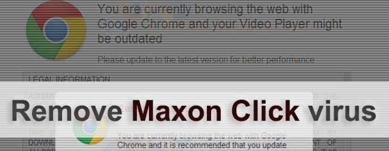 Remove Maxon Click virus