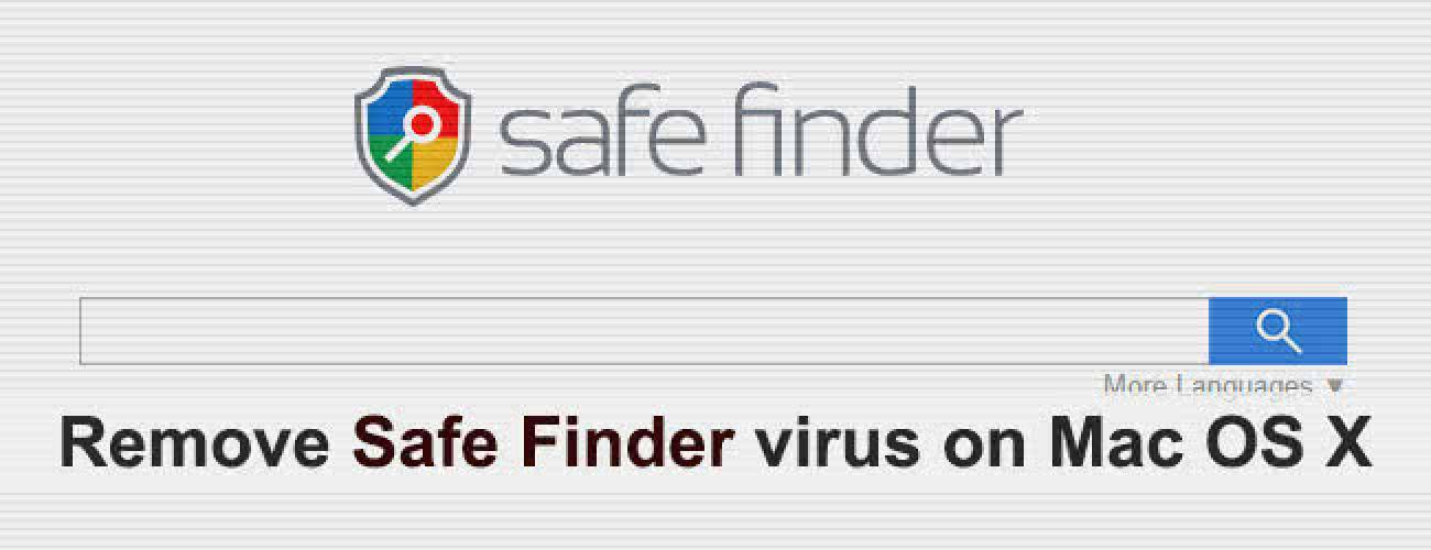Remove Safe Finder virus on Mac OS X
