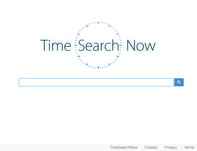 The look and feel of TimeSearchNow homepage