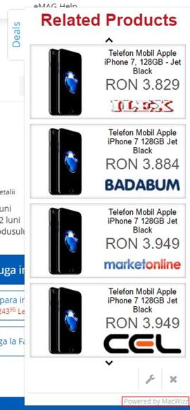 Ads by MacWizz on a web page