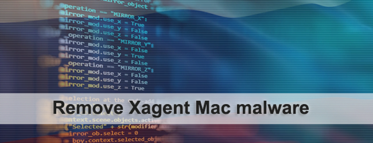 Remove Xagent virus from Mac OS X