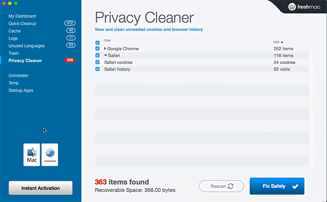 Privacy Cleaner