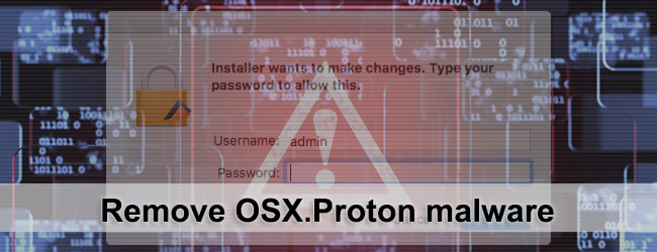 Remove OSX.Proton removal from Mac