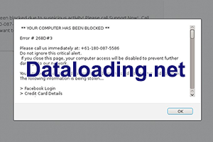 Remove Dataloading.net virus pop up from Safari/Mozilla/Chrome on Mac