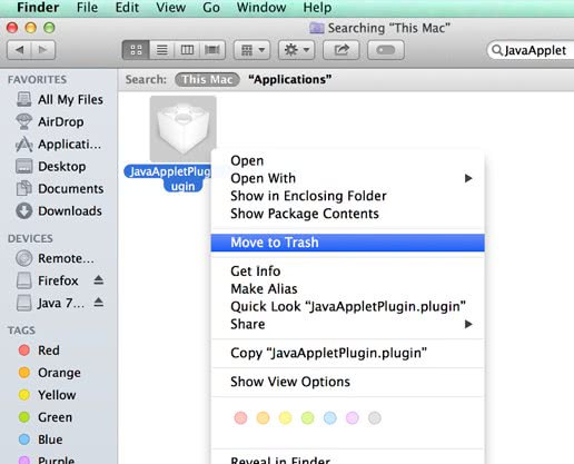 How to uninstall Java on Mac OS X - MacSecurity