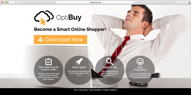 OptiBuy homepage is misleading to the bone