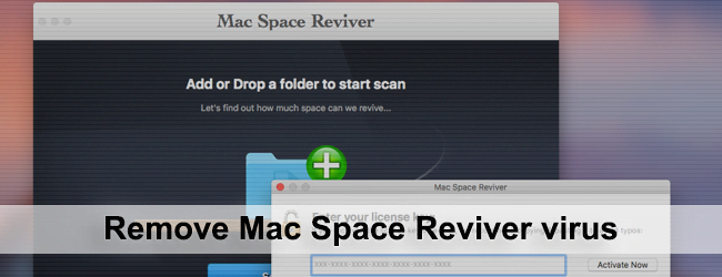 Remove Mac Space Reviver virus