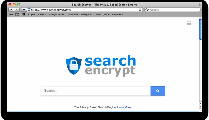 Remove Search Encrypt Mac virus in Safari, Chrome, Firefox